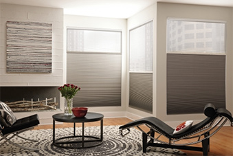 Indoor Dual Cellular Shades