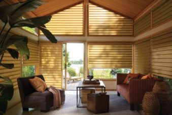 Indoor custom blinds and shades