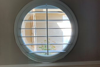 Specialty Shape Wood Circle Window